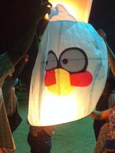 Of course there are Angry bird lanterns.